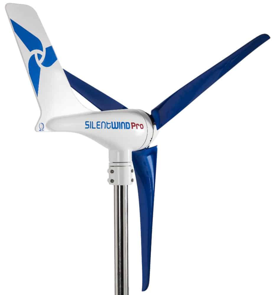 SilentWind Pro 420w Marine Wind Generator - bluemarinestore.com