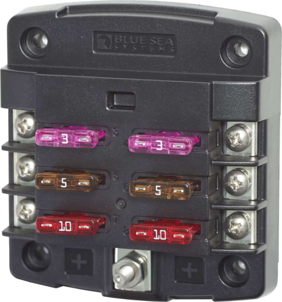 Blue Sea Systems ST Blade Fuse Block