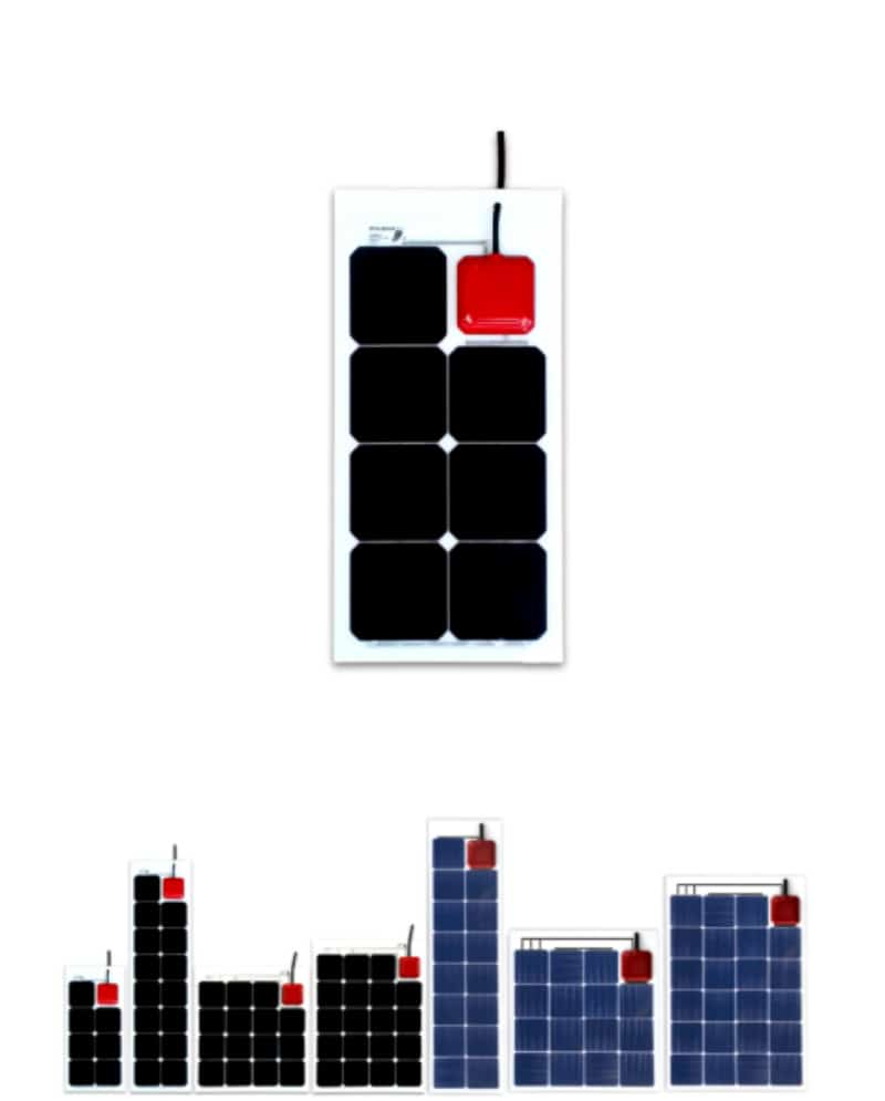 Solbian ALLinONE AiO - Flexible Solar Panel & MPPT Regulator - bluemarinestore.com
