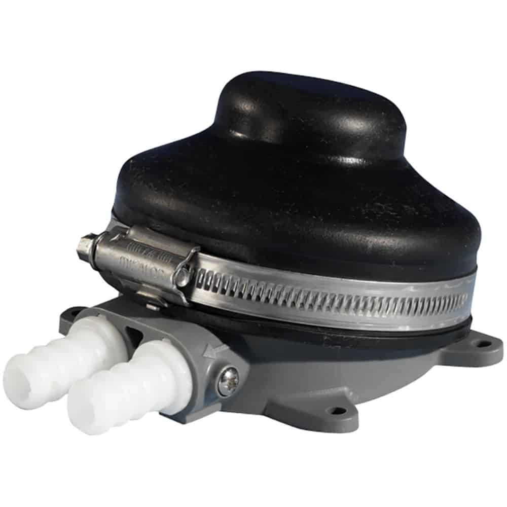 Whale Babyfoot® Manual Galley Foot Pump - bluemarinestore.com