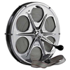 Ultra Line (Quickline) Stainless Steel Flat Anchor Line Reel - bluemarinestore.com