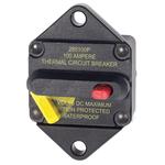 Blue Sea Systems 285-Series Panel Mount Circuit Breaker - bluemarinestore.com