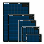 Solara New M-Series Semi Flexible Marine Solar Panels