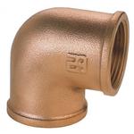 Guidi 0090B 90º Female - Female BSP Bronze Elbow - bluemarinestore.com
