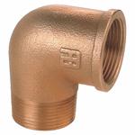 Guidi 0092B 90º Male - Female BSP Bronze Elbow - bluemarinestore.com