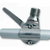 Glomex RA165 Stainless Steel Ratchet Rail Mount - bluemarinestore.com