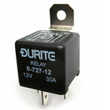 Durite Mini Make & Break 12v 30Amp Relay - bluemarinestore.com