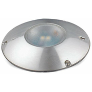 Lunasea Aluminium Red/White LED Ceiling Light