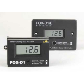 Fox-D1 Digital LCD Ammeter Voltmeter