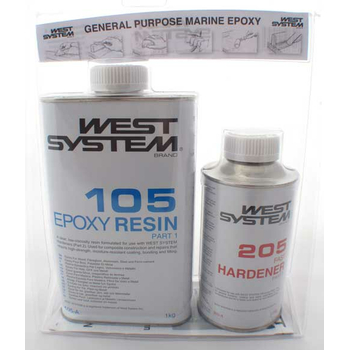 West System Epoxy A Pack (1 2Kg)