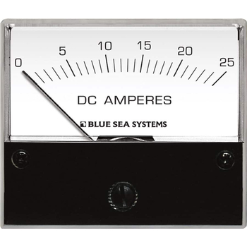 Blue Sea Systems Analog Ammeter, Model: 25 A