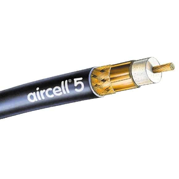 Aircell 5 Low Loss VHF Cable